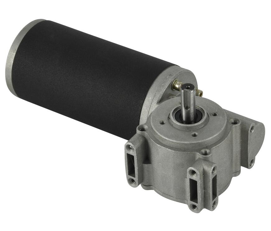 76mm DC Worm Gear Motor