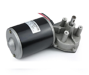 76mm 24v 130w DC Worm Gear Motor